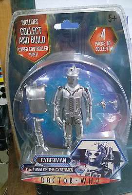 Dr Who Classic Cyberman Tomb Of The Cybermen action figure carded 1967 series