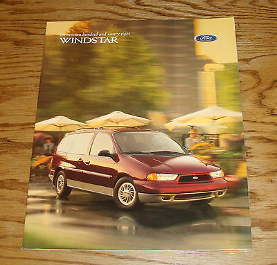 Original 1998 Ford Windstar Sales Brochure 98