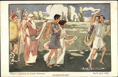 Shakespeare Play - Julius Caesar by Lucile Patterson c1905 Postcard