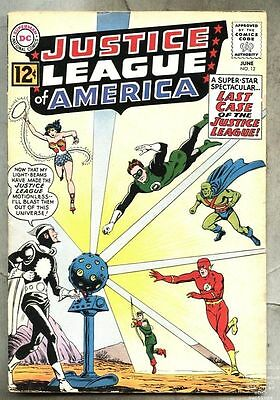 Justice League Of America #12-1962 vg 1st Dr. Light / Mike Sekowsky