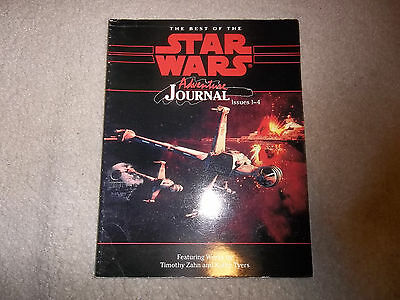Star Wars RPG The Best of the Star Wars Adventure Journal Issues 1-4