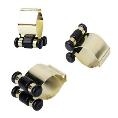 Gold METAL POOL SNOOKER BILLIARD CUE RACK CLIP TABLE Fishing Rod parts Holder