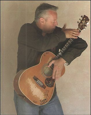 Tommy Emmanuel with classic Maton Acoustic Guitar 8 x 11 pinup photo 1a
