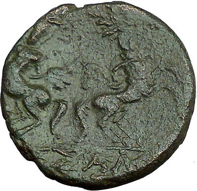 Thessalonica in Macedonia 88BC Greek Coin Janus Time Centaurs part horse i33731