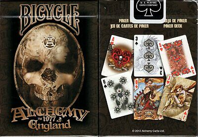 Alchemy Deck Bicycle Playing Cards Poker Size USPCC Limited Edition New Gothic