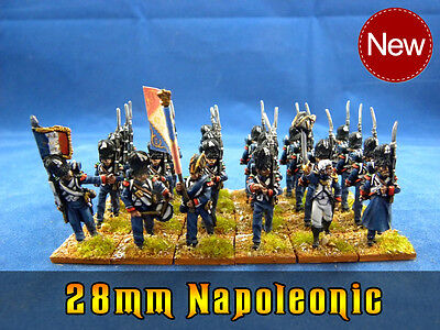 28mm Napoleonic painted French Infantry pefn015