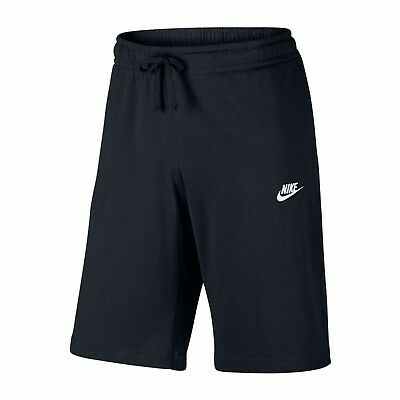 Nike Herren Baumwoll Short NSW Club Trainingsshort schwarz