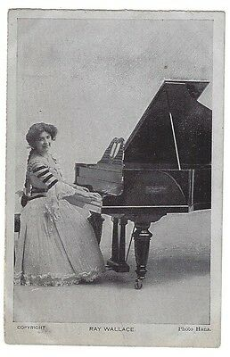 RAY WALLACE Theatre Actress, Photo by Hana, Old Unused Postcard