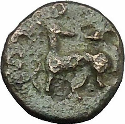 EPHESUS in IONIA 350BC Genuine Authentic Ancient Greek Coin Bee Stag i49766