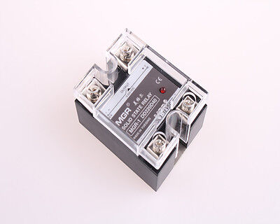 MGR-1DD220D40 DC 3-32V to DC5-220V SSR40A  Solid State Relay w Cover NEW