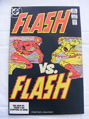 DC Comics The Flash # 323 July 1983 Death Of Reverse Flash - Professor Zoom