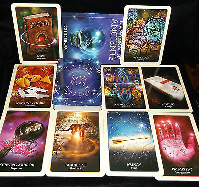 Sealed Brand New! Divination Of The Ancients Card & Book Oracle Various Cultures