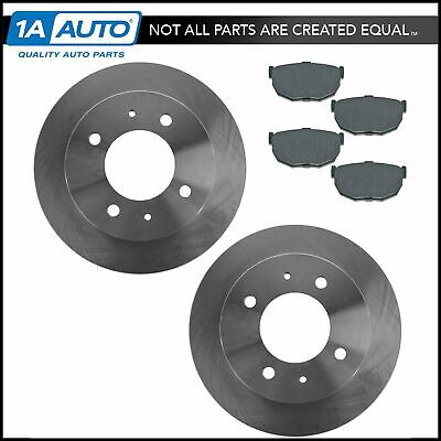 2006 2007 2008 for Hummer H3 Front /& Rear Brake Rotors and Pads