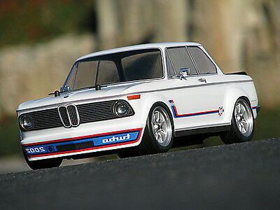 Hpi Racing 7215 Bmw 2002 Turbo Body (Wb225Mm.f0/r0Mm) New Genuine Part!