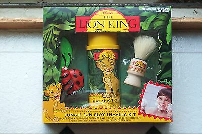 Vintage Lion King Shave Kit Toy Mint In Mint Box