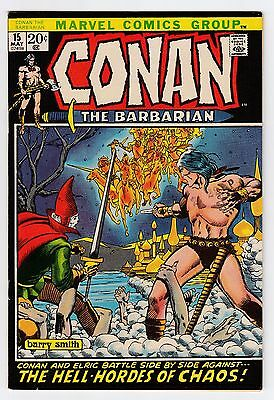 Conan the Barbarian #15 (1970) VF/NM (9.0) Elric Barry Windsor-Smith Roy Thomas