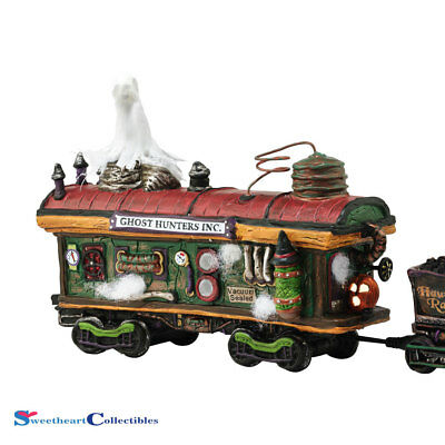 Department 56 Halloween Village Scary Ghost Hauler 4054982 New 2016