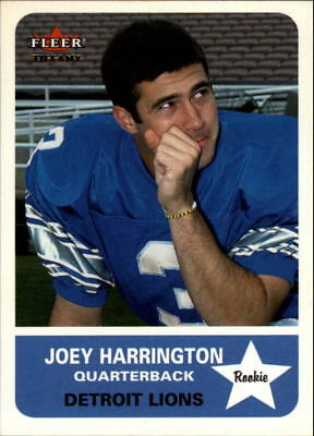 2002 Fleer Tradition Tiffany #263 Joey Harrington /225 - NM-MT