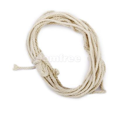 30M Cotton Chic Soft Braided Sash Rope Piping Cord DIY Craft Natural Beige