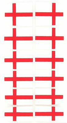 England St Georges Cross Nail Wraps