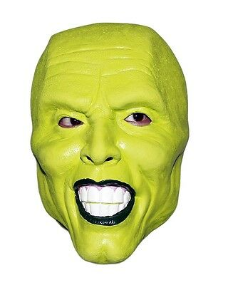 ' THE MASK ' VERDE Maschera JIM CARREY Costume Costume da Halloween FILM LOKI