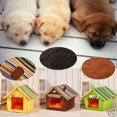 New Foldable Pet House&Bed Dog Cat Soft Kennel Mat Pad Warm Puppy Cushion Basket