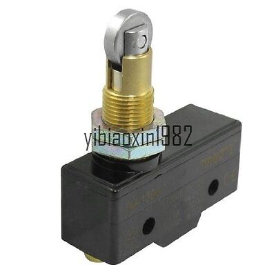 New AC 380V 15A Parallel Roller Plunger Enclosed Micro Switch Microswitch