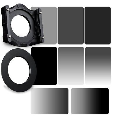 GND&ND2+ND4+ND8+ND16 Neutral Dendity Filter&Holder+77mm Ring Kit For Cokin Z-PRO