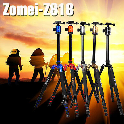 Zomei Z818 Aluminum Travel Tripod Monopod&Ball Head for Travelling DSLR Camera