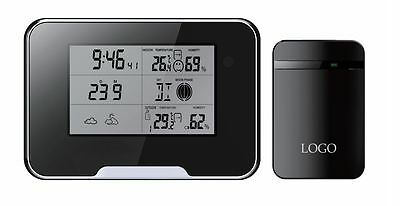 Wifi 1080P Weather Station Spy Nanny Camera