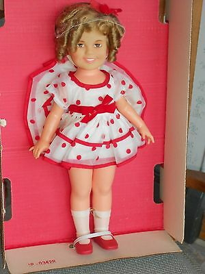 "1973 Collectible 42 Yr Old  Ideal Shirley Temple Doll 17"" tall Mint Original Box"