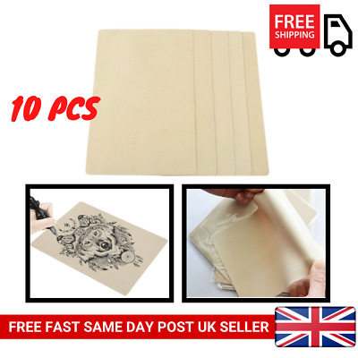 10Pcs Learning Blank Tattoo Tattooing Fake False Practice Skin Synthetic NEW