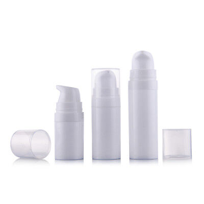 Airless Bottle Cosmetic 10ml 15ml Pump Cover Travel Skincare Lotion Bottle
