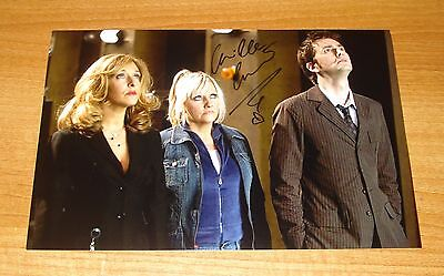CAMILLE CODURI GENUINE HAND SIGNED AUTOGRAPH 12x8 SIGNATURE PHOTO DR DOCTOR WHO