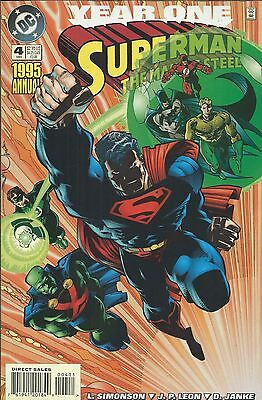 DC Superman Man of Steel Annual comic issue 4