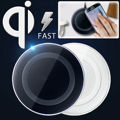 QI Wireless Fast Charger Charging Pad For Samsung Galaxy S7/S7 Edge /Note 7 Lot