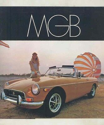 1970 MG MGB Brochure ww1535