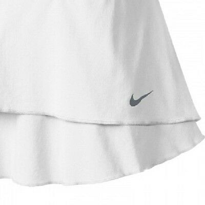 New $58 NIKE Women's Flouncy Tennis Skirt White Maria Sharapova Lg. NWT Sold out