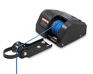 Blem Trac Electric Anchor Winch Fisherman 25 Lb Capacity Freshwater