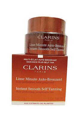 Clarins Instant Smooth Self Tanning for Face, 1 Oz