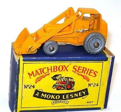 Lesney Matchbox No. 24 Hydraulic Excavator - Mint Boxed
