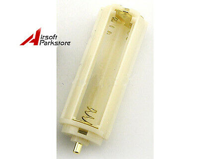 AAA To 18650 Battery Converter Adaptor Plastical Battery Holder Case White