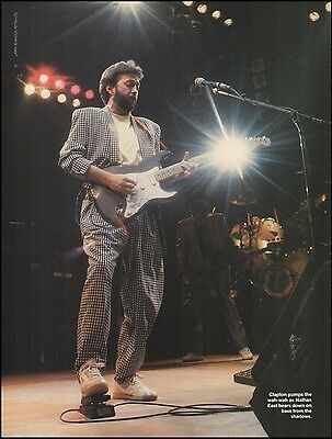 Eric Clapton Signature Fender Stratocaster Blackie Guitar 8 x 11 pinup photo