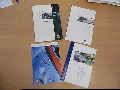 MGF Owners Handbook / Manual  Books as Pictured 4 books