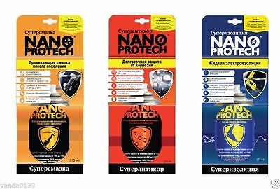 Set universal greases NANOPROTECH the best in the world !!! 3 for set !!!