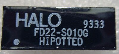 FD22-S010G HALO HIPOTTED Transformers Audio & Signal 10BASE-T FILTER DIP 100Ohm