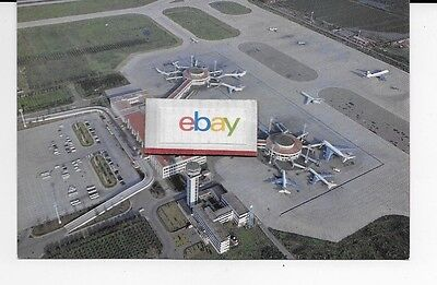 Caac China Civil Aviation Bejing Capital Airport Aerial Airline Issue Postcard