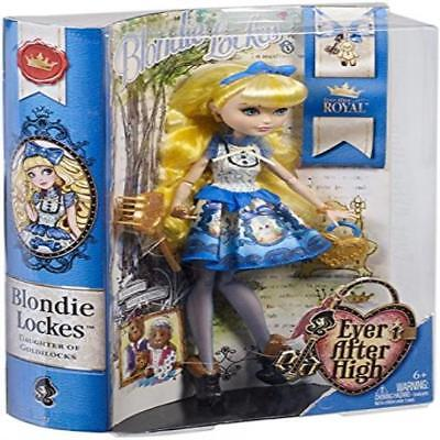 @ Ever After High Blondie Lockes Fashion Doll Perfect Include Lock-Inspired Purs