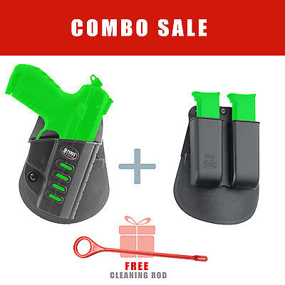 Fobus Ruger SR22 Right Hand Combo Holster Mag. Pouch Kit - SR22 6922 Rod