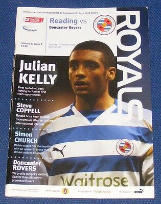 Reading Home Programmes  2008-2009